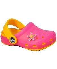 Dětské plážové sandály Bugga růžové 32 s motýlkem