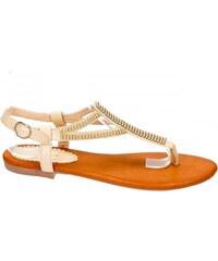 páskové sandálky 36