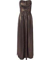 JANE NORMAN Společenské fialové metalické šaty Žaneta