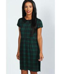 BOOHOO Zelené šaty Jen