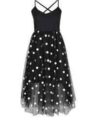 BOOHOO Tylové plesové šaty Leah
