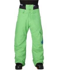Snowboardové kalhoty Quiksilver Planner 10K insulated 016 glq0 poison green 2014/15