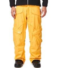 Snowboardové kalhoty Vans Mylan Cargo amber yellow 2013/14