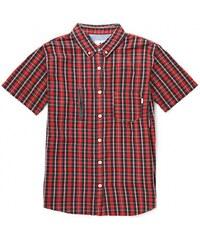 Košile Burton Manchster SS cardinal tartan 2013