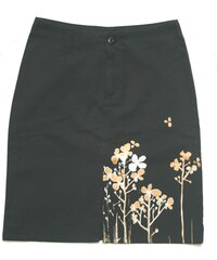 Sukně Peace Long Skirt black dámská