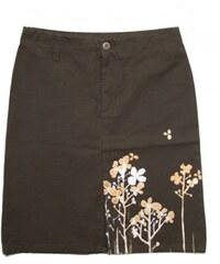 Sukně Peace Long Skirt brown dámská