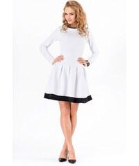 Dámské šaty Makadamia M173 bílé