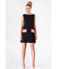 Dámské šaty Makadamia M176 černé