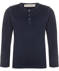 Minymo Langarmshirt dark blue
