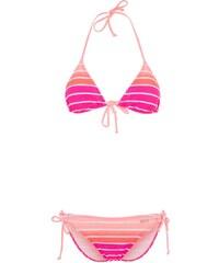 Venice Beach Bikini pink striped