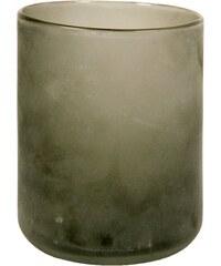 skleněný svícen L/grey