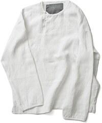 RIIJA pánská lněná košile-tunika/white