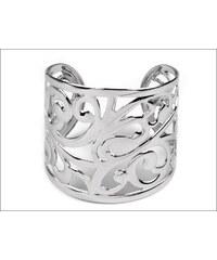 Designový stříbrný náramek