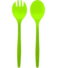 ZAK! designs - Duo příbor na salát, 2ks set-zelený, 32 cm (0204-350)