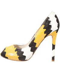 Mai Piu Senza High Heel Peeptoe yellow