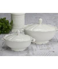Chic Antique Porcelánová polévková mísa Provence 1 L