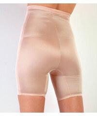 Venca Stahující vysoké kalhotky s nohavičkami tělová