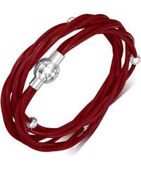 DAMSON Kožený náramek - náhrdelník