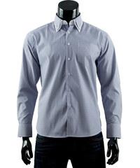 Pánská košile s proužkem Boston Public - tmavě modrá