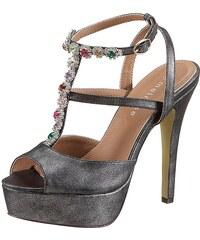 Melrose High Heel Sandalette mit Glitzersteinchen