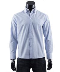 Pánská košile s proužkem Boston Public - světle modrá