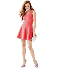 Guess Šaty Cap-Sleeve Fit-and-Flare Bandage Dress