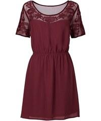 RAINBOW Šaty se síťovou vsadkou bonprix