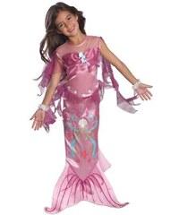 Dětský kostým Mořská panna růžová Pro věk (roků) 1-2