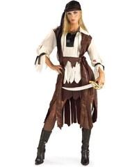 Kostým Karibská pirátka Velikost STD