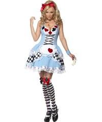 Kostým Sexy Miss Wonderland Velikost L 44-46
