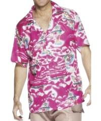 Havajská košile růžová Velikost M 48-50