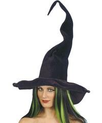 Klobouk Čarodějnice vysoký a klikatý