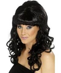 Paruka Beehive Beauty černá