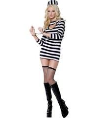 Kostým Sexy vězeňkyně Velikost L 44-46