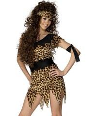 Kostým Sexy jeskynní žena Velikost L 44-46