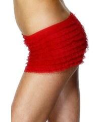 Krajkové kalhotky červené