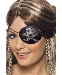 Pirátská záslepka Diamantová lebka a hnáty