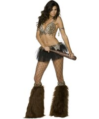 Kostým Sexy jeskynní žena Velikost S 36-38