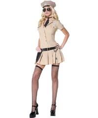 Kostým Sexy policistka sheriff Velikost S 36-38