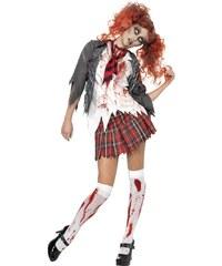 Kostým High School zombie školačka Velikost L 44-46