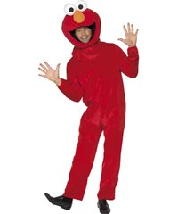 Kostým Sesame street Elmo Velikost M 48-50
