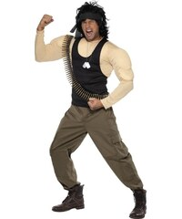 Kostým Rambo Velikost M 48-50