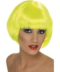 Paruka Babe neon žlutá