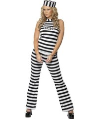 Kostým Sexy vězeňkyně Velikost M 40-42