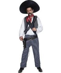 Kostým Mexický bandita Velikost M 48-50