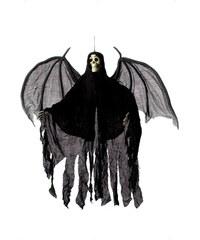 Strašidlo Kostra s pláštěm a křídly 105 cm