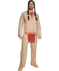 Kostým Indiánský náčelník Velikost M 48-50