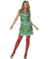 Kostým Vánoční stromeček Velikost L 44-46
