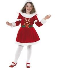 Dětský kostým Santa girl Pro věk (roků) 10-12