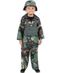 Dětský kostým Parašutista Pro věk (roků) 10-12
